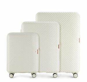 zestaw walizek z polikarbonu – kolekcja GL Style
