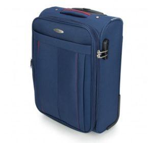 mała walizka z włókna syntetycznego z kolekcji Basic+