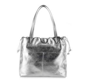 srebrna torebka