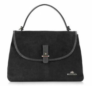 torebka zamszowa z kolekcji Elegance