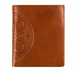 brązowy portfel