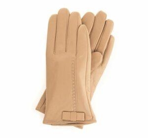 rękawiczki damskie beżowe
