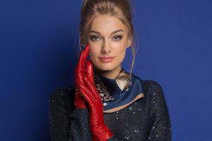 Skórzane rękawiczki od ręki w WITTCHEN