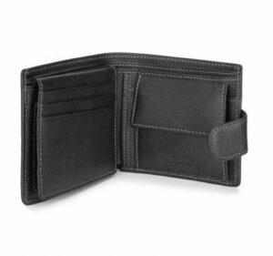 e618d33ec0cf3 czarny portfel z kolekcji City Leather czarny portfel z kolekcji City  Leather