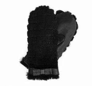 rękawiczki ze skóry owczej