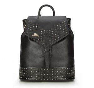 czarny plecak damski