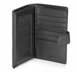 89b2da1772ffa ... czarny portfel dla mężczyzny z kolekcji City Leather