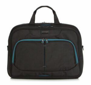 czarna torba na laptopa 15,6