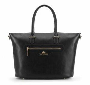 czarna klasyczna torba