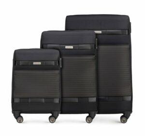 zestaw walizek z poliestru