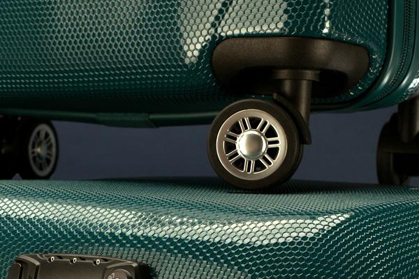 zielone walizki