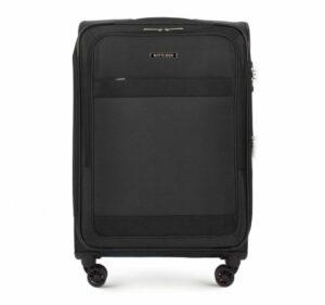 czarna walizka z kolekcji Travel Light II