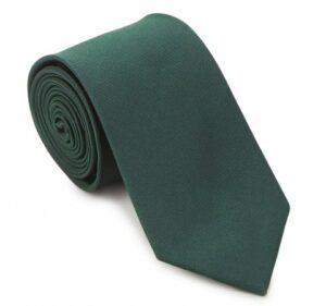 ciemnozielony krawat męski