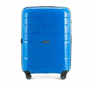 niebieska walizka z kolekcji Speedster