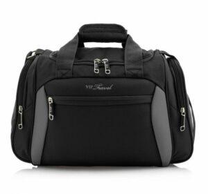 czarno-szara torba na ramię