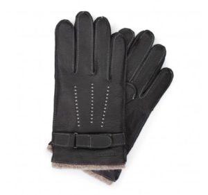 rękawiczki z paskiem na rzepy