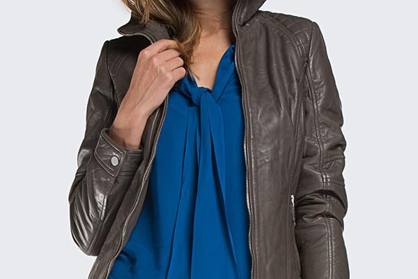 5 pomysłów na stylizację ze skórzaną kurtką meską