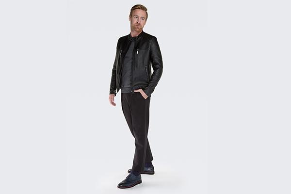 5 pomysłów na stylizację ze skórzaną kurtką męską
