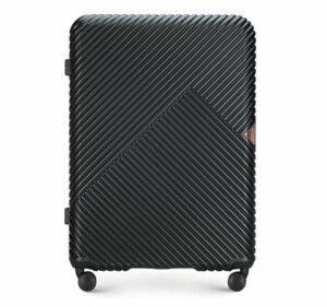 czarna walizka z kolekcji GL Style