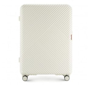 biała walizka z kolekcji GL Style