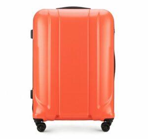 pomarańczowa walizka z kolekcji Haardy II