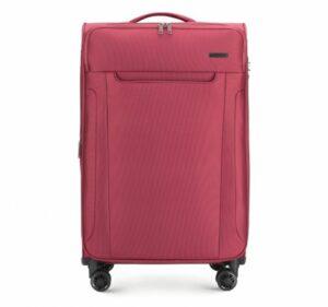 bordowa walizka z kolekcji Super Style