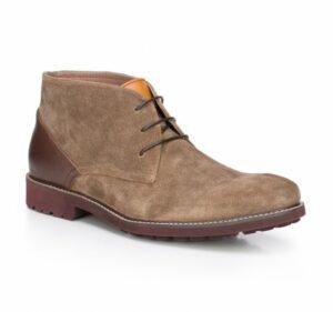 zamszowe buty męskie