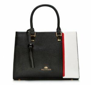 czarno-czerwony kuferek WITTCHEN – kolekcje wiosna–lato