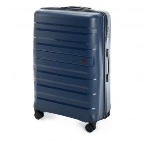 duża walizka z kolekcji PP – Matte Stripes