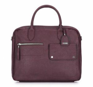 fioletowa torba na laptopa Office