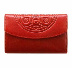 czerwony portfel z kolekcji Mandala
