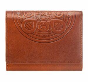 brązowa portmonetka z kolekcji Mandala