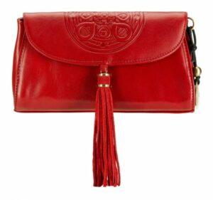 czerwona torebka z kolekcji Mandala