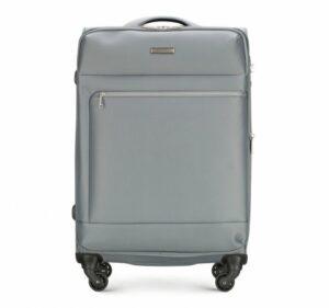 wielka majówka: szara walizka z kolekcji Super Light Line