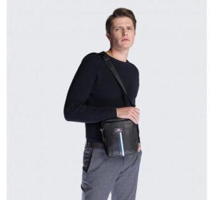 skórzana listonoszka z kolekcji Office Leather