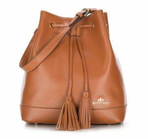torebka typu worek z kolekcji Elegance