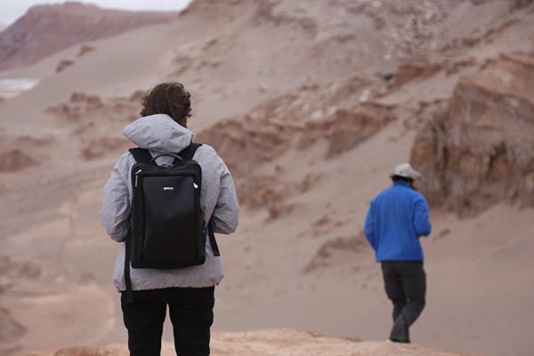 plecak WITTCHEN na pustyni Atakama