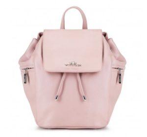letnie stylizacje: skórzany plecak z kolekcji Elegance