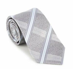 Prezent na Dzień Ojca: szary krawat