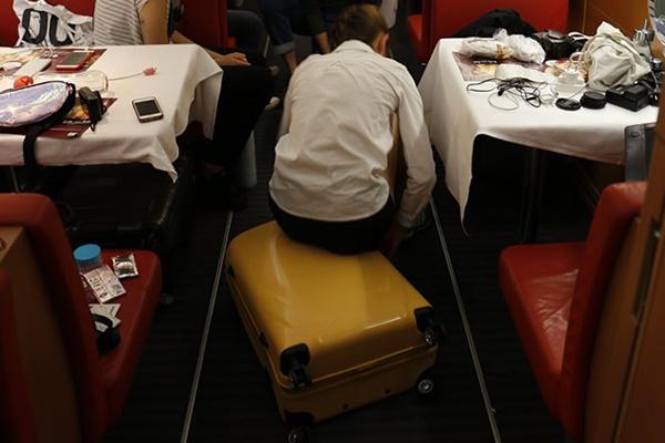 walizka WITTCHEN w podróży do Chile