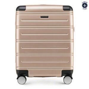 walizka kabinowa z ABS (wymiary54 cm x 39 cm x 23 cm)