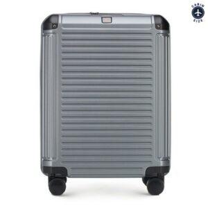 walizka kabinowa z policarbonu (wymiary 55 cm x 39 cm x 20 cm)