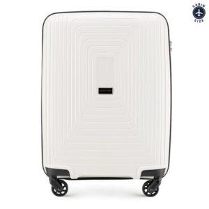 twarde walizki: walizka kabinowa z polipropylenu z okalającym wzorem