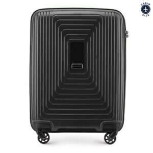 walizka kabinowa z polipropylenu (wymiary 54 cm x 40 cm x 20 cm)