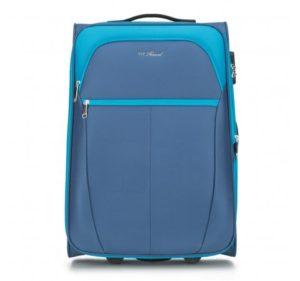 średnia walizka z poliestru