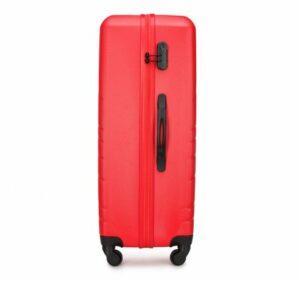 czerwona walizka z kolekcji Wavy Style II
