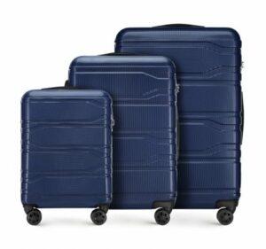 kiermasz bagażowy WITTCHEN: komplet walizek z policarbonu