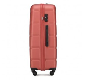 pomarańczowa walizka z kolekcji Arrow Line