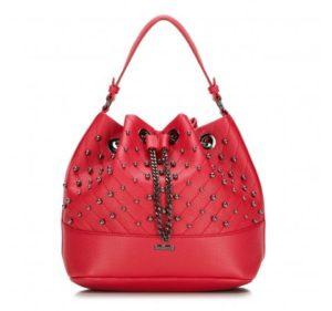 torebki hobo bag: torebka-worek z łańcuchem oraz okuciami