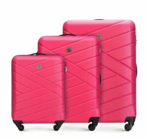 kiermasz bagażowy WITTCHEN: zestaw walizek z ABS-u